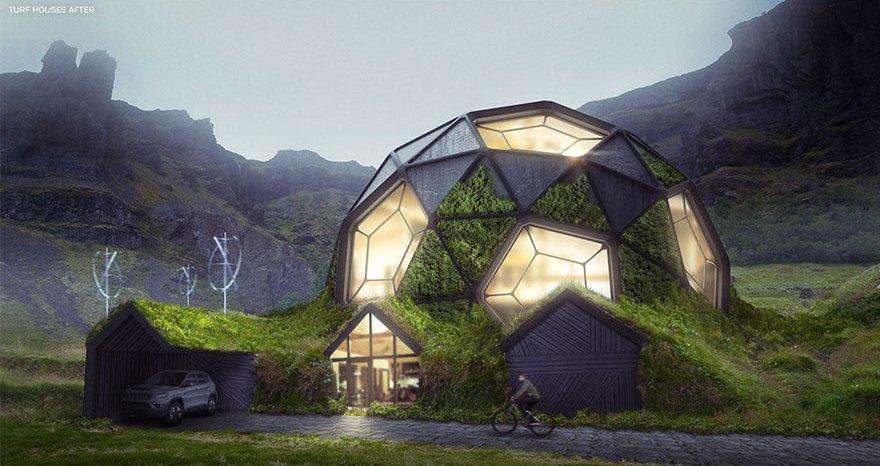 6 Desain Bangunan Tua Diubah Jadi Rumah Modern