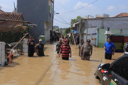 Empat Kecamatan di Kota Tangerang Terendam Banjir