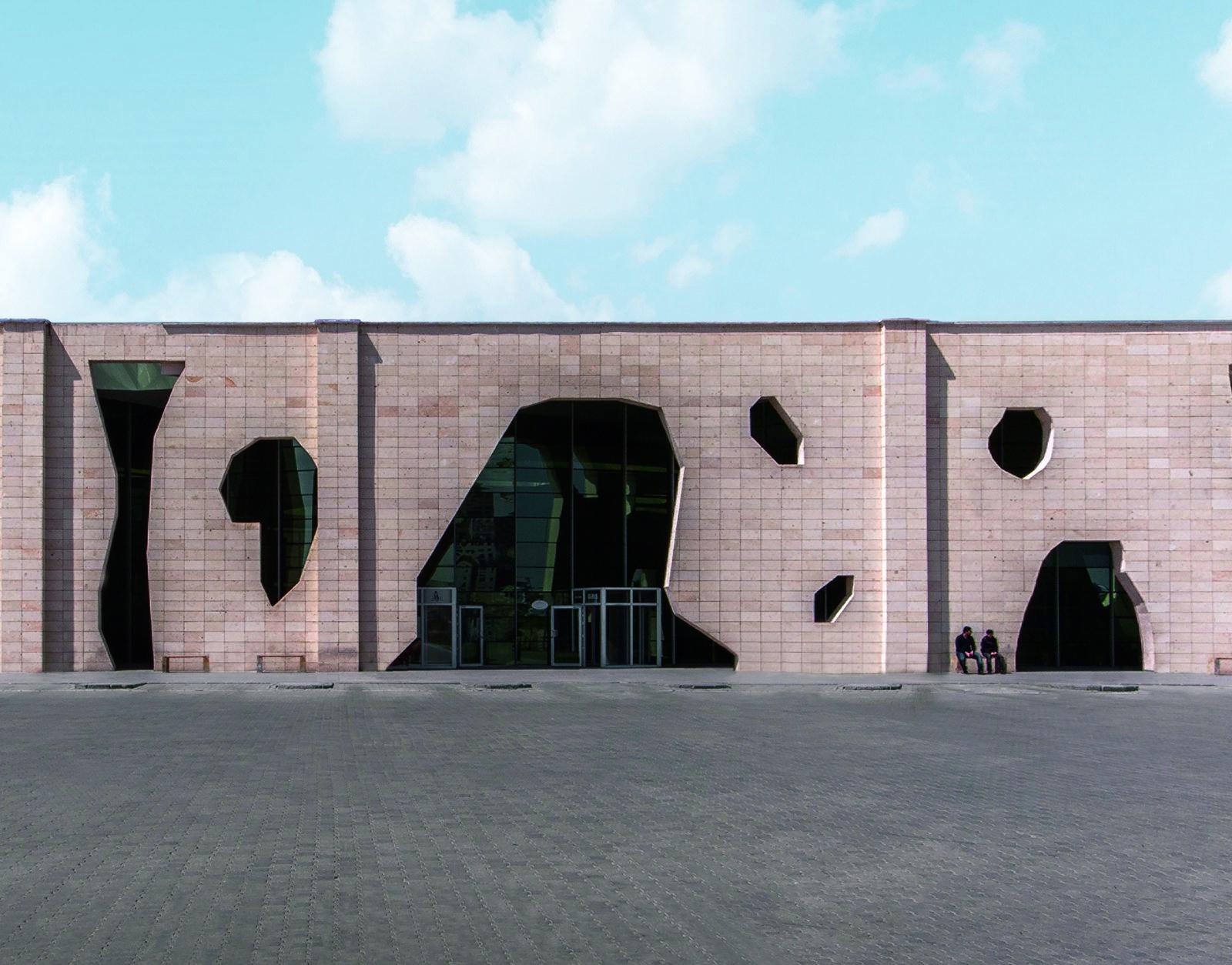 5 Bangunan Modern Terbuat dari Batu
