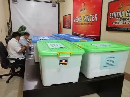 Sengketa Pileg, Bawaslu Banten Kirim 13 Boks Alat Bukti