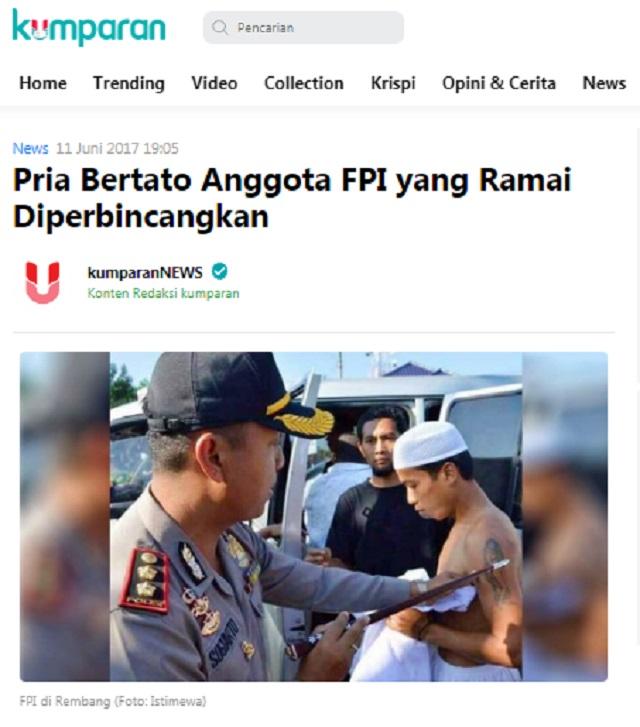 [Cek Fakta] Pembakar Bendera PDIP Anggotanya Sendiri yang Menyamar Ikut Tolak RUU HIP?