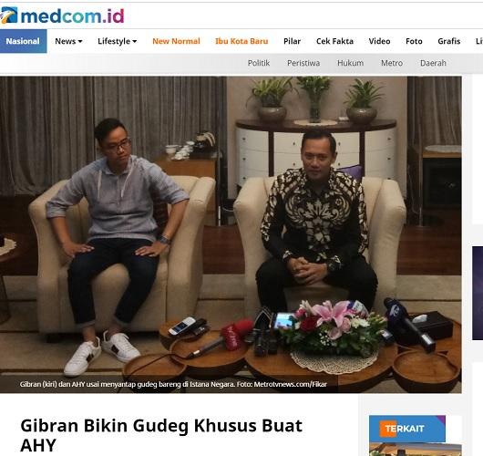 [Cek Fakta] Gibran Putra Jokowi Tantang Debat Terbuka Rocky Gerung? Ini Faktanya