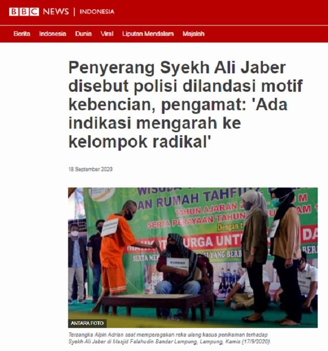 [Cek Fakta] Megawati Disebut Biayai Penusukan Syekh Ali Jaber? Ini Faktanya