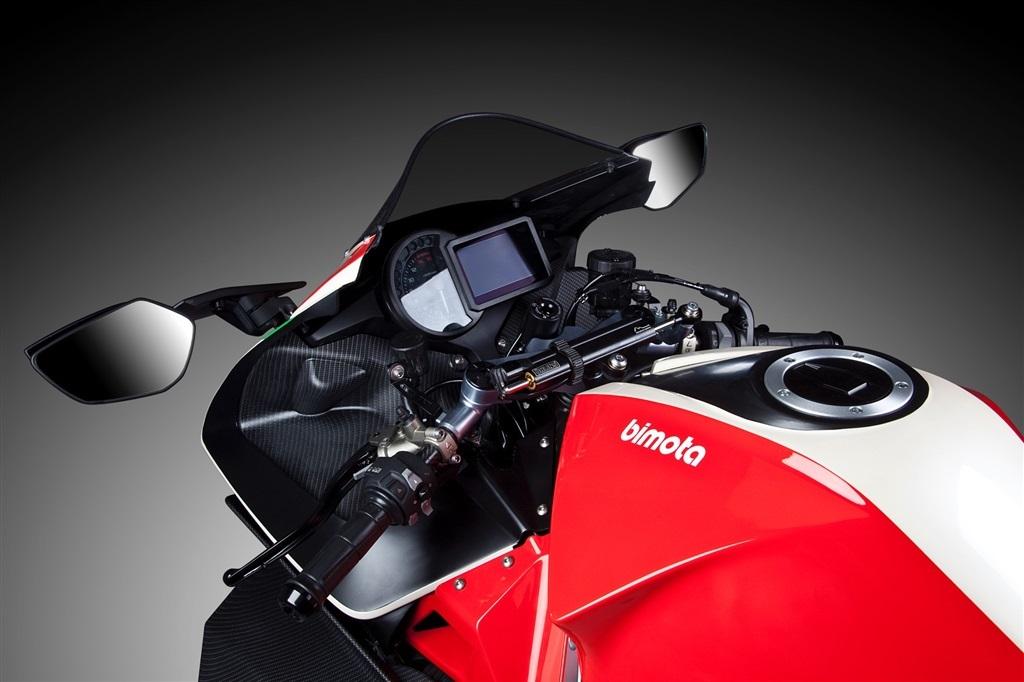 Bimota TESI H2, Motor Italia Hati Jepang