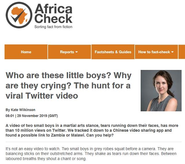 [Cek Fakta] Dua Bocah Afrika Dihukum dan Dipaksa Bernyanyi Lagu Kebangsaan Tiongkok