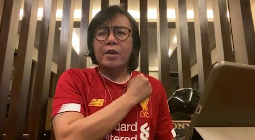 Dukungan Fan Liverpool Indonesia untuk Pegiat Lawan Korona