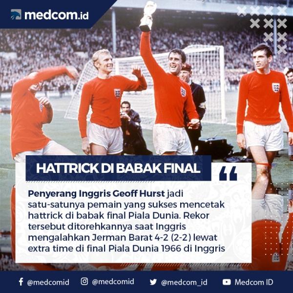 Diari Piala Dunia: Pencetak <i>Hattrick</i> di Final Piala Dunia