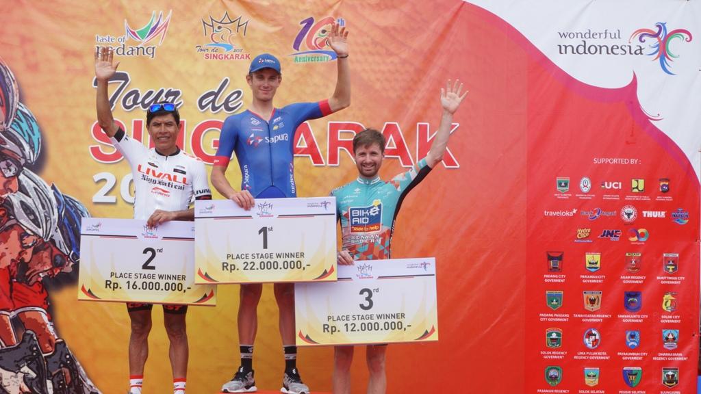 Pembalap Australia Kuasai Etape 3 Tour de Singkarak