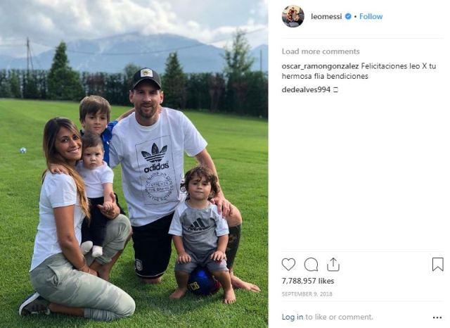 Kisah Cinta Messi: Awalnya Cinta Monyet, lalu LDR, Kini Punya Anak Tiga