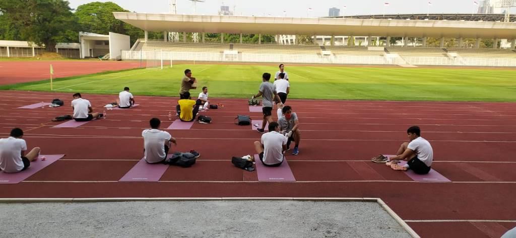 4 Pemain Timnas Senior tak Tampak di Latihan Perdana