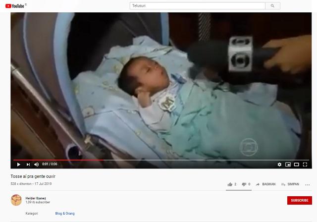 [Cek Fakta] Video Bayi Bicara Telur Rebus Tengah Malam Dapat Mencegah Korona? Ini Faktanya