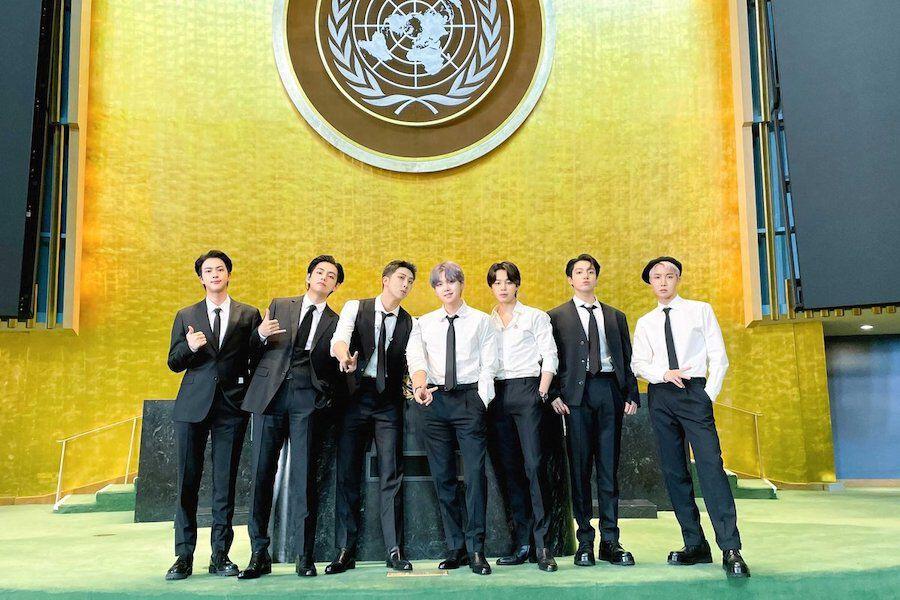 Komentari BTS dalam Sidang PBB, James Corden di-<i>Cancel</i> ARMY