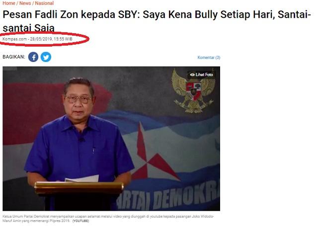 [Cek Fakta] Fadli Zon Curhat ke SBY Disebut 'Ikan Buntal'? Ini Faktanya