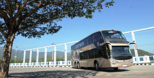 2 Bus <i>Double-Decker</i> AKAP Diujicoba di H-2 Lebaran