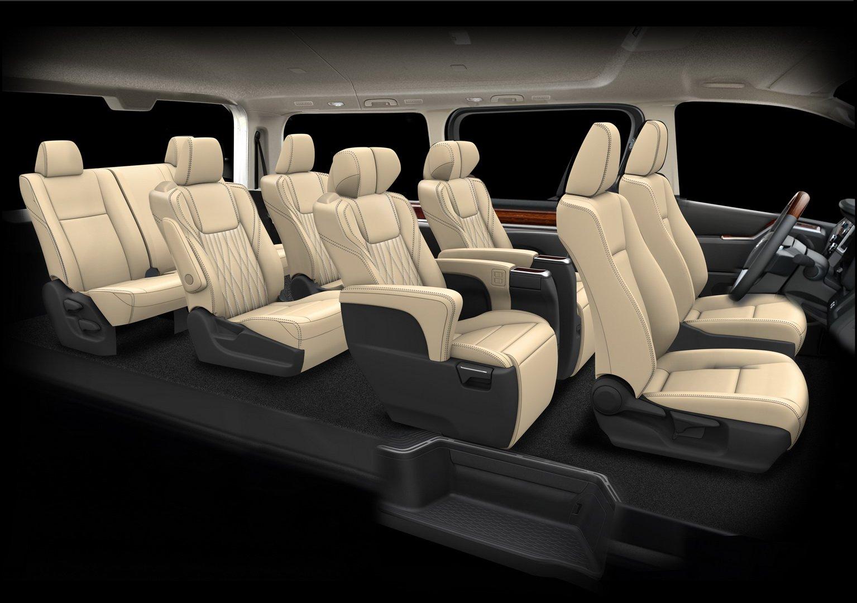 Toyota GrandAce Jadi Versi Mewah dari HiAce