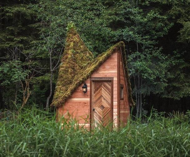 Cabinland, Hunian Berbentuk Berlian di Tengah Hutan