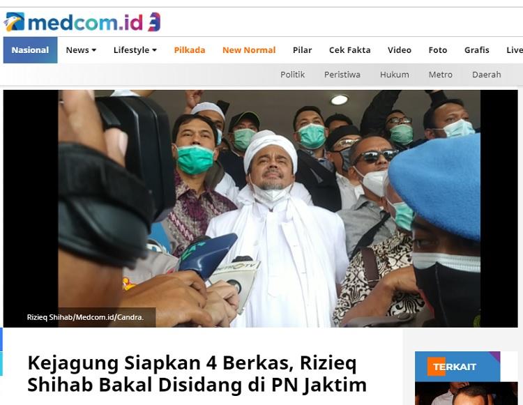 [Cek Fakta] Rizieq Shihab Ditahan di Lapas Nukambangan? Ini Faktanya