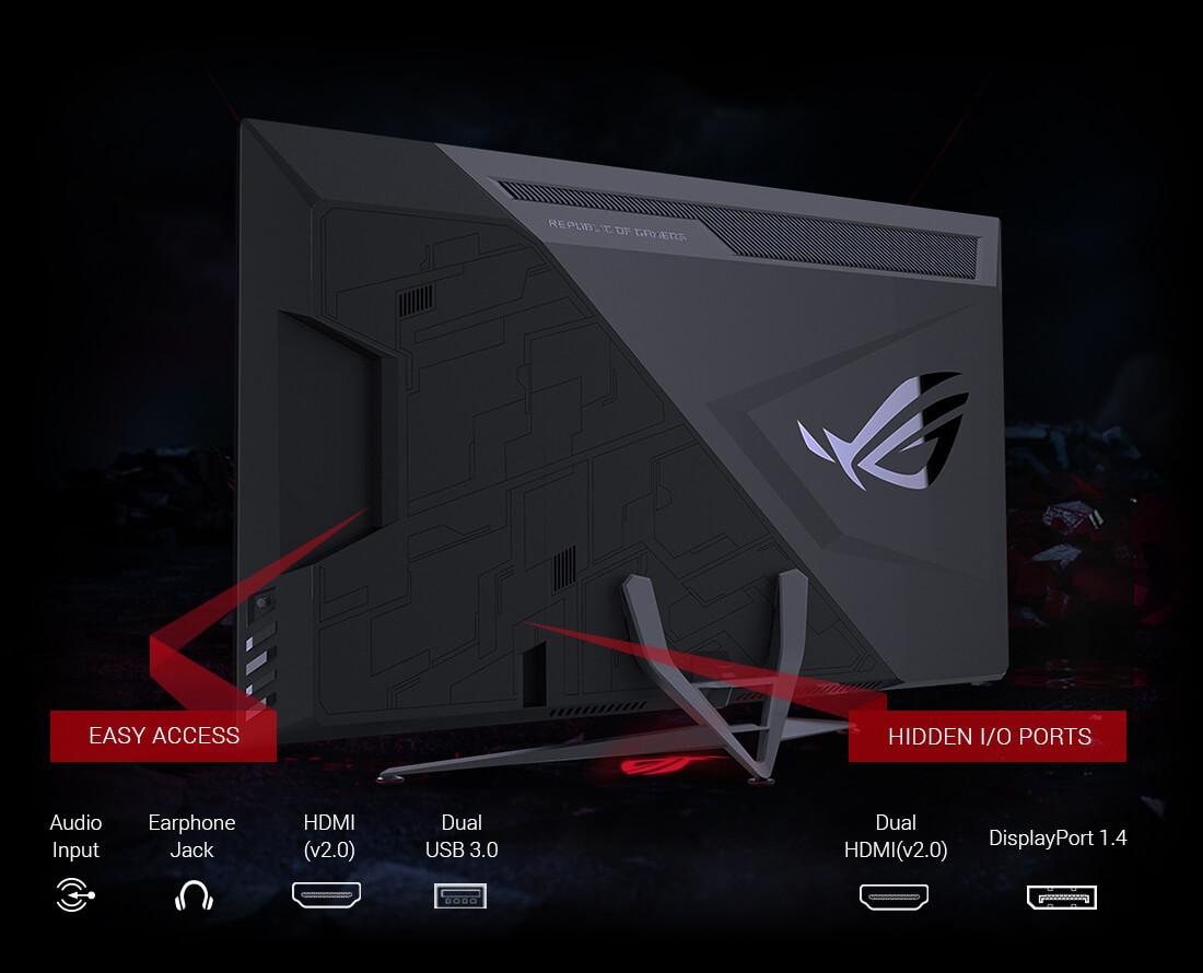 ASUS ROG Strix XG438Q Sajikan Layar 43 Inci