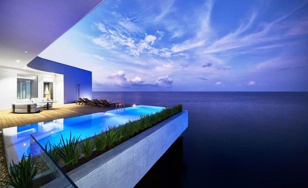The Muraka Maldives, Hotel Pertama di Samudra Hindia