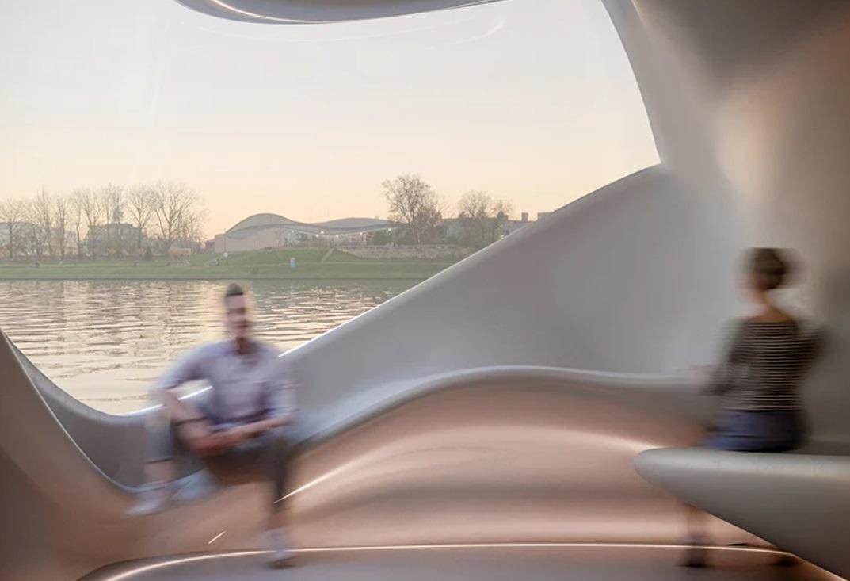 Unik, <i>Coworking Space</i> yang Dibangun di Atas Sungai