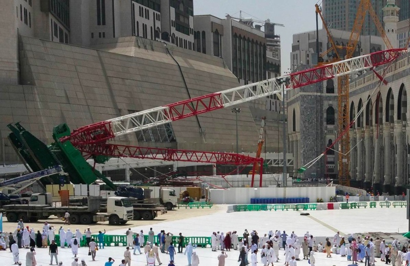 Rp85 Miliar Diserahkan Saudi untuk Korban Kecelakaan <i>Crane</i>