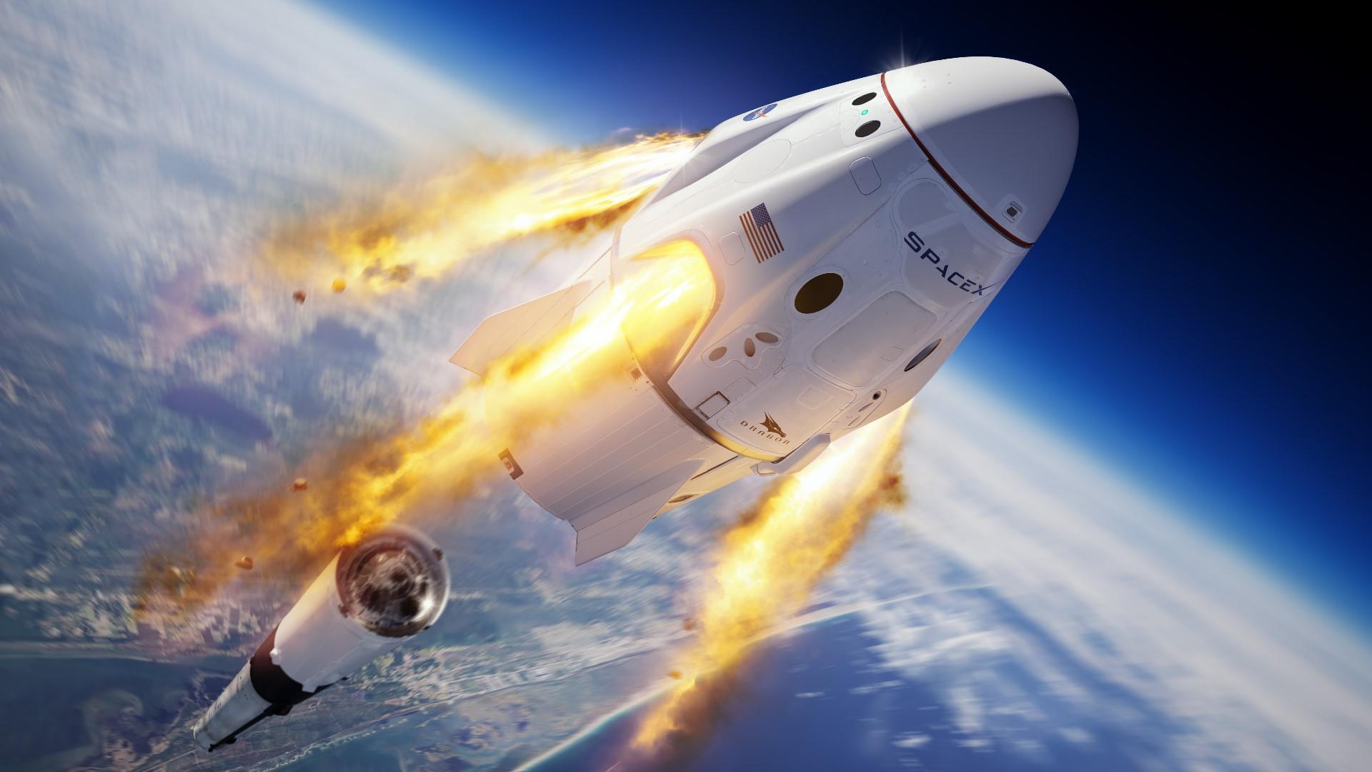 Roket Berhasil Meluncur, Ini yang Dikhawatirkan Elon Musk