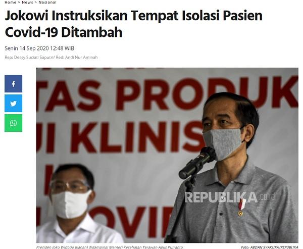 [Cek Fakta] Jokowi Minta Penusukan Syekh Ali Jaber Tak Dibesar-besarkan? Ini Faktanya
