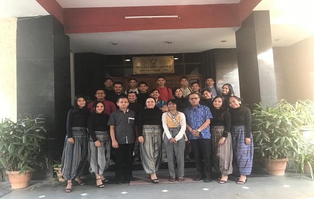 Paduan Suara Indonesia Tampil Memukau di New Delhi