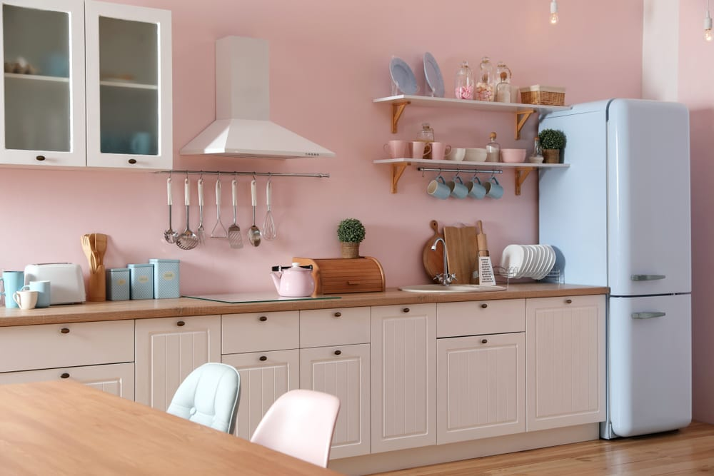 6 Rekomendasi Warna Cat untuk Dapur