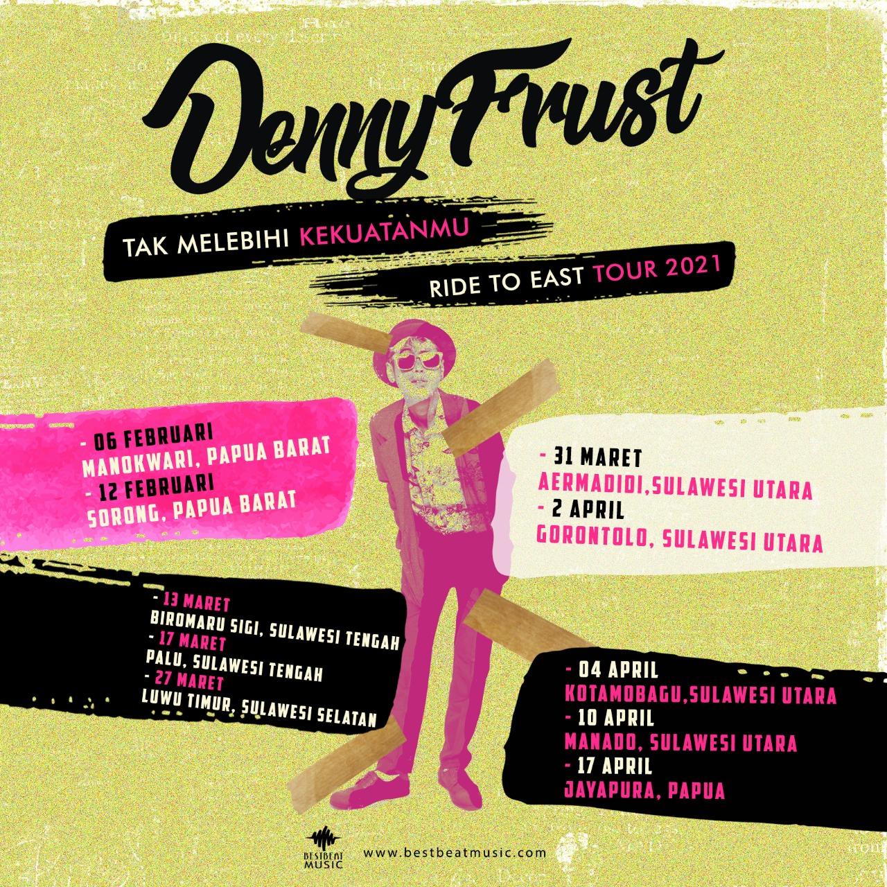 Sekelumit Cerita Denny Frust saat Tur ke Timur Indonesia