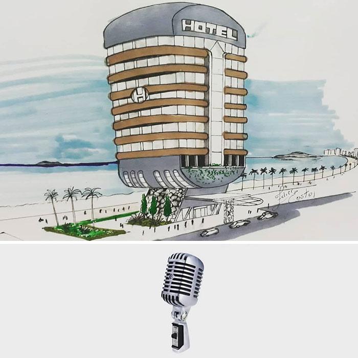 Desain Bangunan yang Terinspirasi Benda Sederhana, dari Masker hingga Setrika