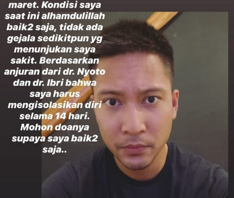 7 Artis Indonesia Sembuh dari Covid-19