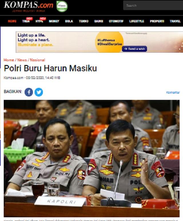 [Cek Fakta] Duit Suap Harun Masiku untuk KPU dan PDIP Berasal dari Erick Thohir? Ini Faktanya