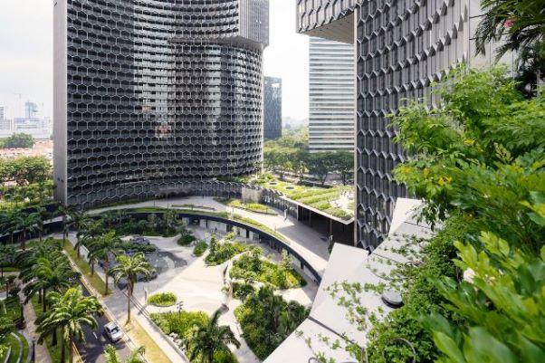 Rumah Lebah Raksasa di Tengah Singapura