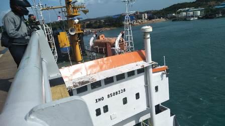 Kapal Tanker Tabrak Jembatan 2 Barelang Batam
