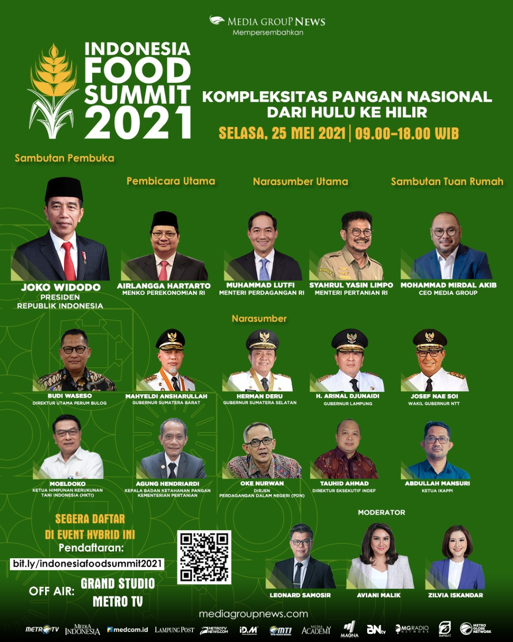 MGN Siap Gelar Indonesia Food Summit 2021
