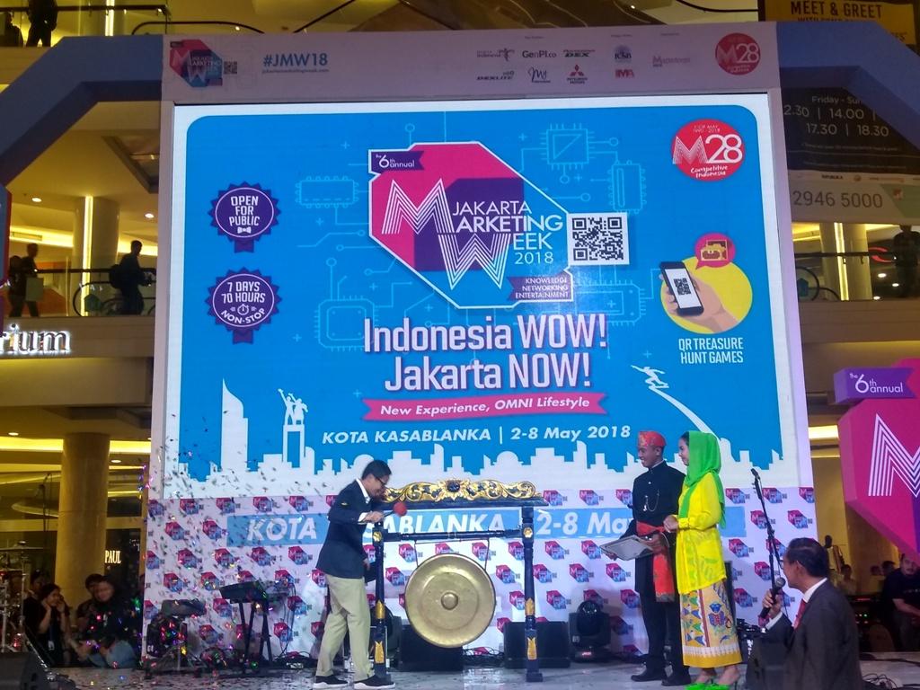Antusiasme Pengunjung Terus Meningkat di Jakarta Marketing Week 2018