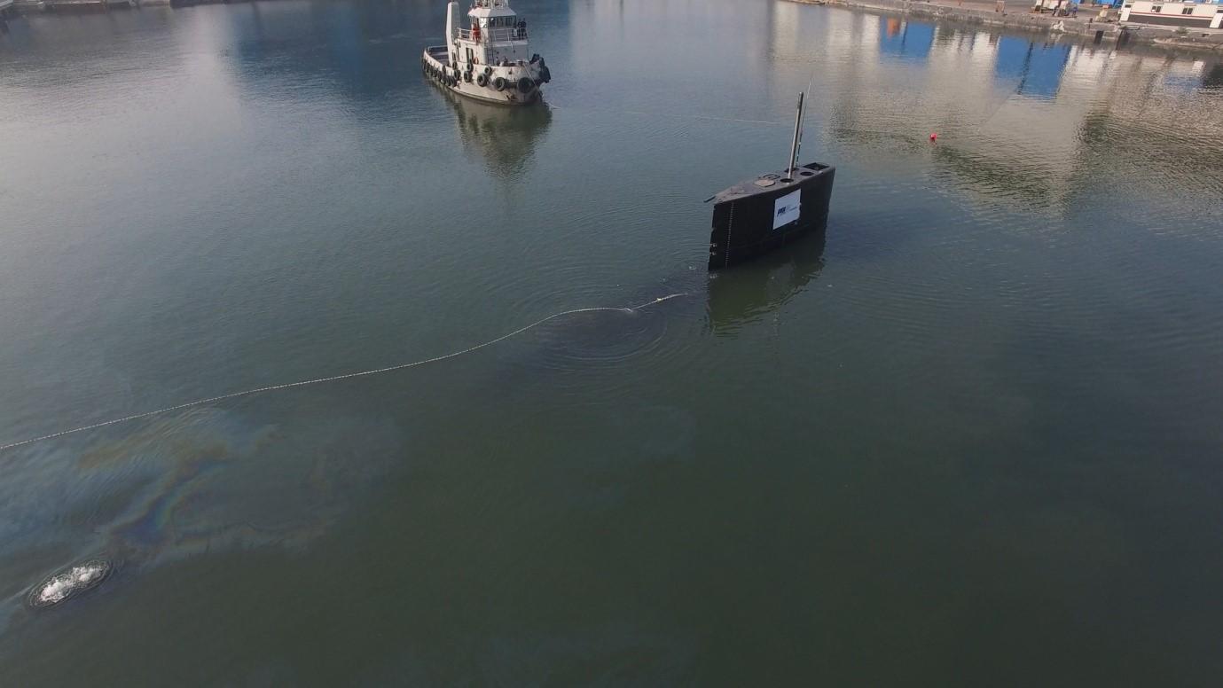 PAL Indonesia Uji Keseimbangan Kapal Selam Alugoro