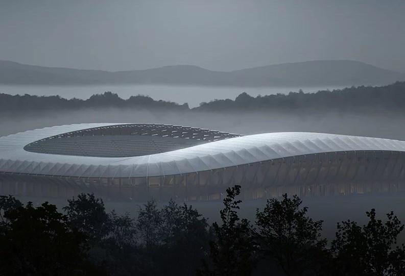 Stadion Kayu Pertama di Dunia Bakal Dibangun di Inggris