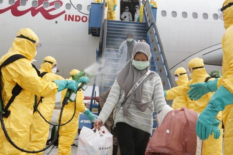 Evakuasi WNI dari Wuhan Dipuji Asing