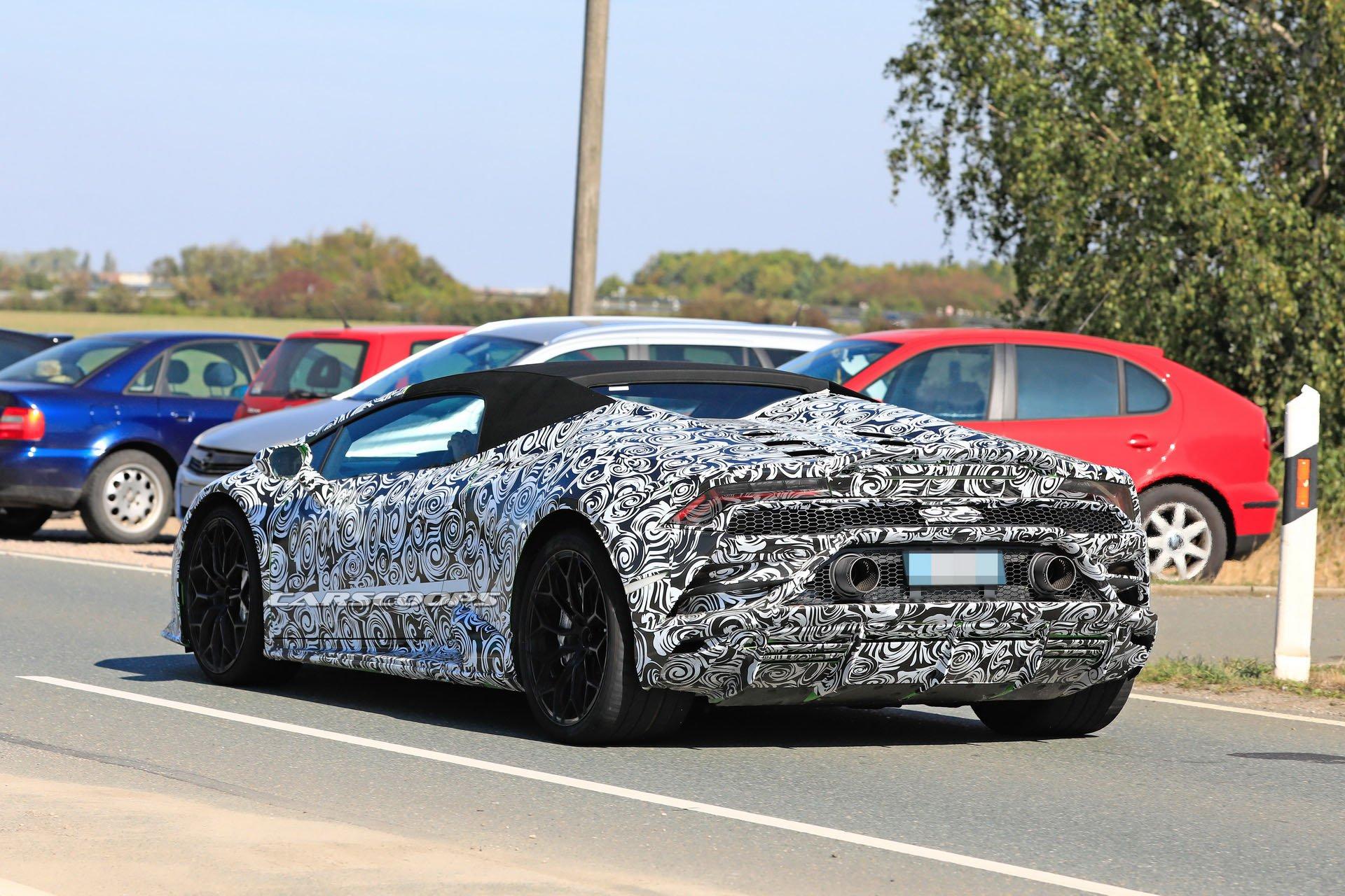 Lamborghini Siapkan Ubahan Minor Huracan