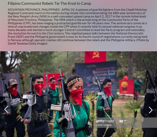 [Cek Fakta] Beredar Foto Sejumlah Anggota PKI Angkat Senjata? Ini Faktanya