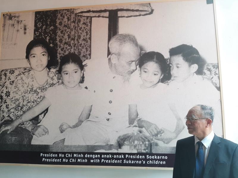 Kedekatan RI-Vietnam dalam Potret Soekarno dan Ho Chi Minh