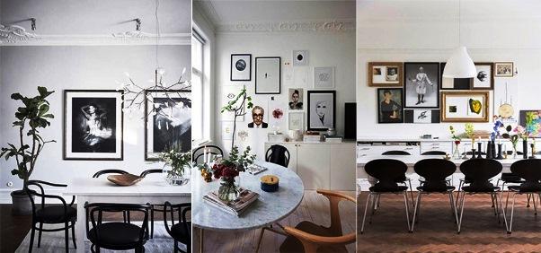 Ruang Makan Sederhana Rasa Skandinavia