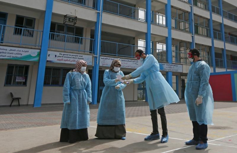Gaza, Terisolasi Tetapi Rentan Terhadap Virus Korona