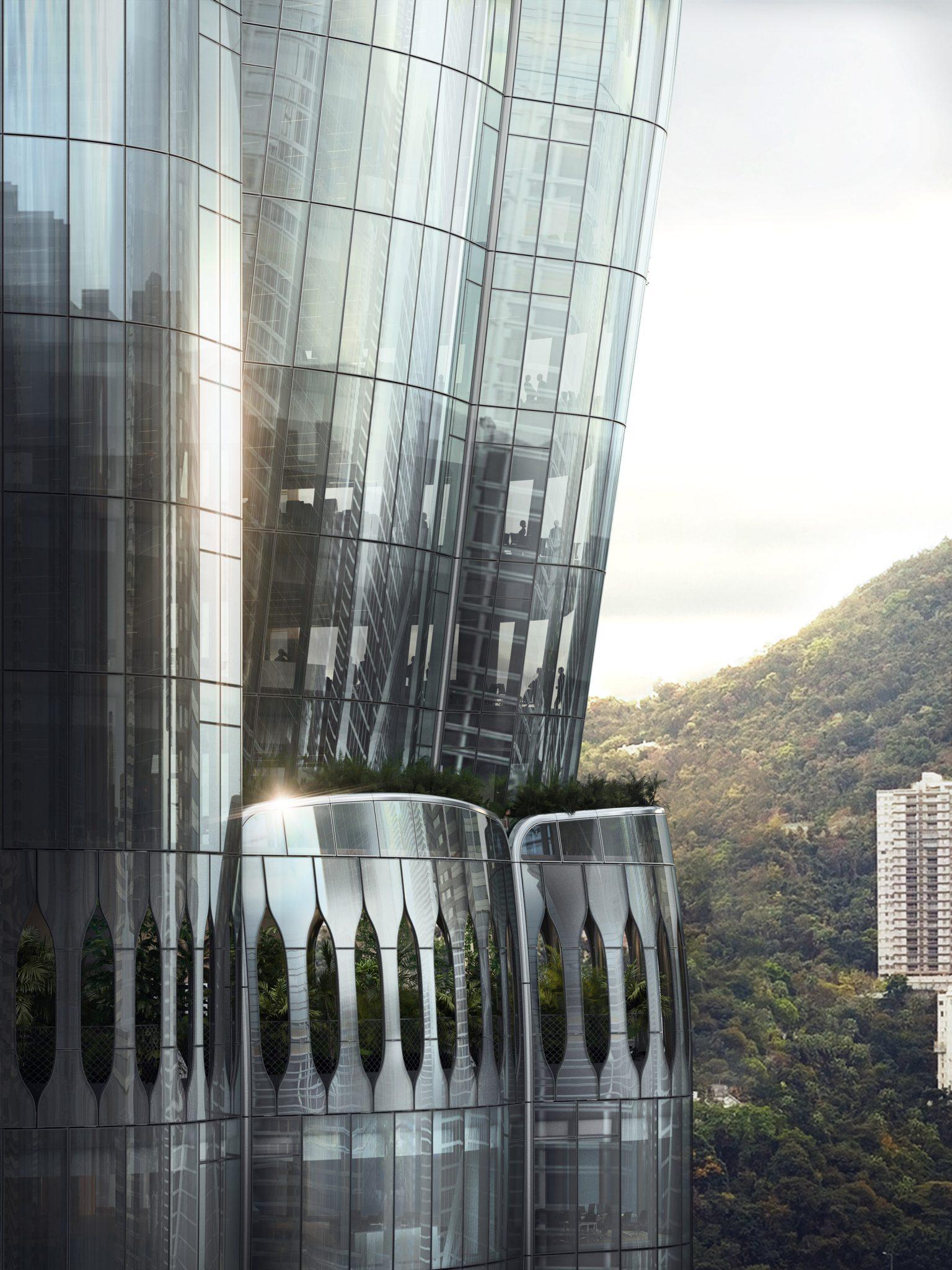 Gedung Berlapis Kaca Serupa Kuncup Bunga, Dibangun di Lahan Termahal di Dunia