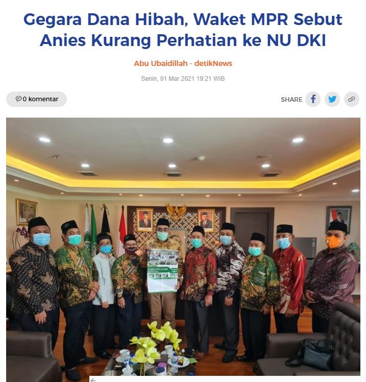 [Cek Fakta] Wakil Ketua MPR Jazilul Fawaid Mengumpat ke Anies Baswedan? Ini Faktanya