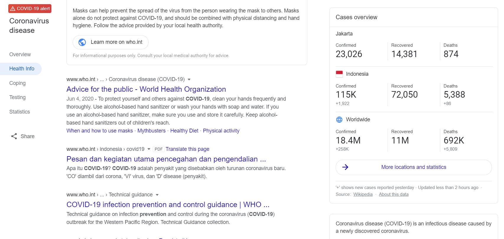 Google Doodle Hari Ini, Kampanye Pakai Masker dan Jaga Jarak