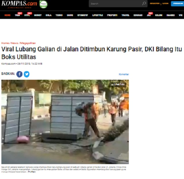 [Cek Fakta] Orang Bayaran Anti-Anies Baswedan Tutup Gorong-gorong agar Banjir Berkepanjangan? Ini Faktanya