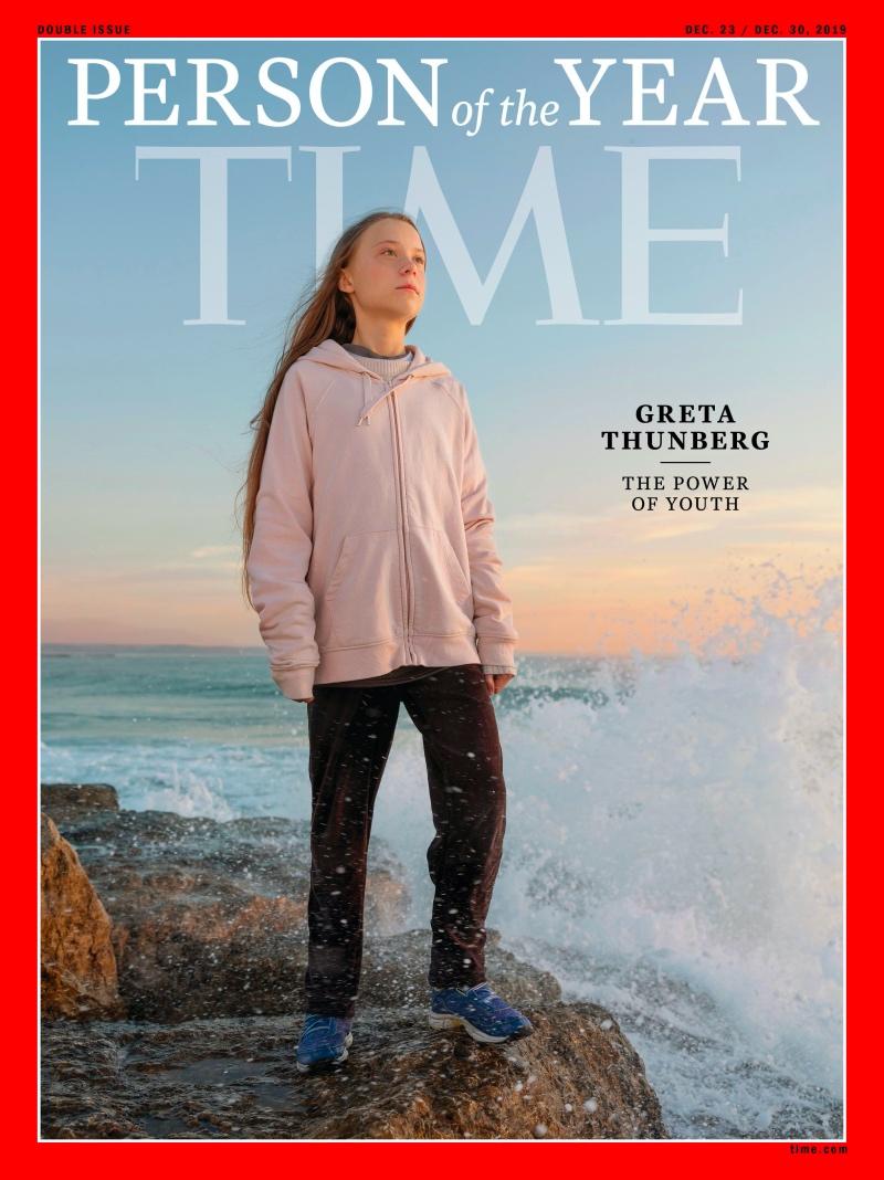 Greta Thunberg Dinobatkan Person of the Year 2019 Versi TIME